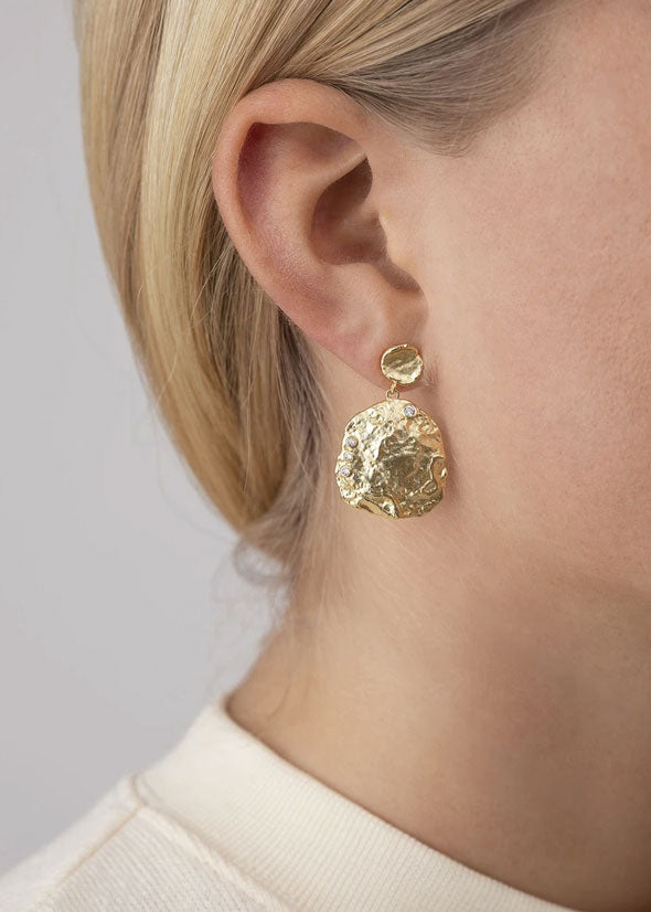 The Shella Earring Gold