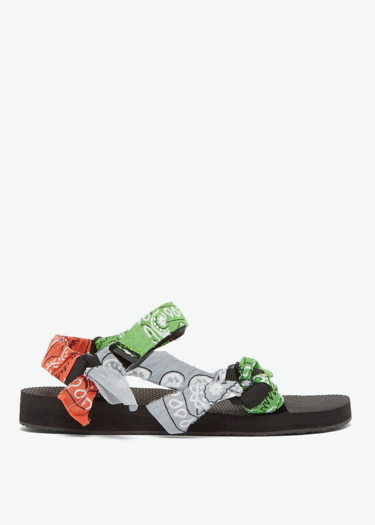 Trekky Sandal Mix Green