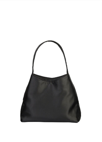 The Mini Chloe Bag Black Satin