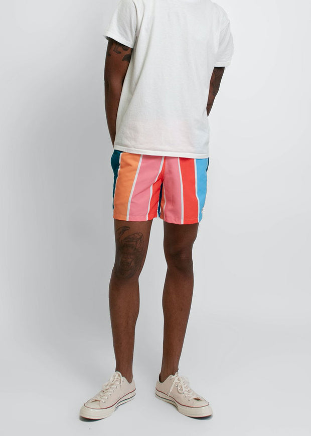 Swim Trunk Multi Gradient