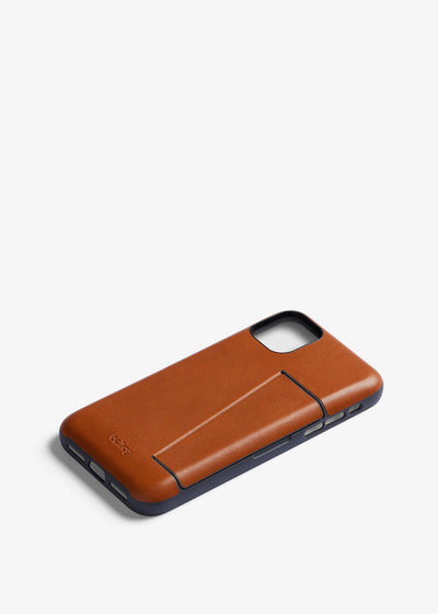 Phone Case 3 Card iPhone 11 Pro Caramel