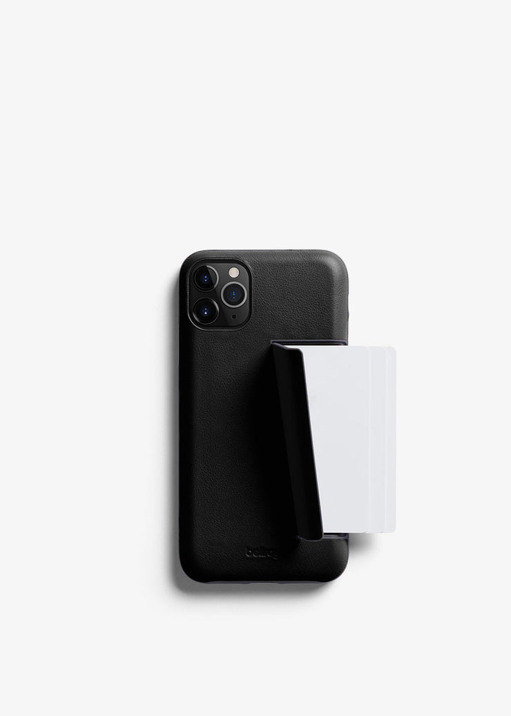 Phone Case 3 Card iPhone 11 Pro Max Black