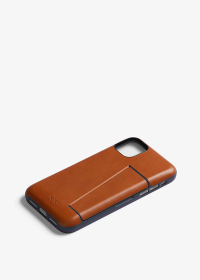 Phone Case 3 Card iPhone 11 Pro Max Caramel