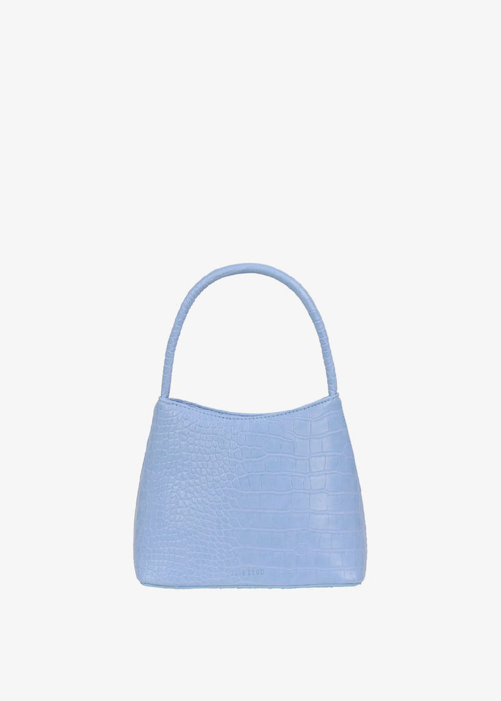 The Chloe Bag Powder Blue Croc