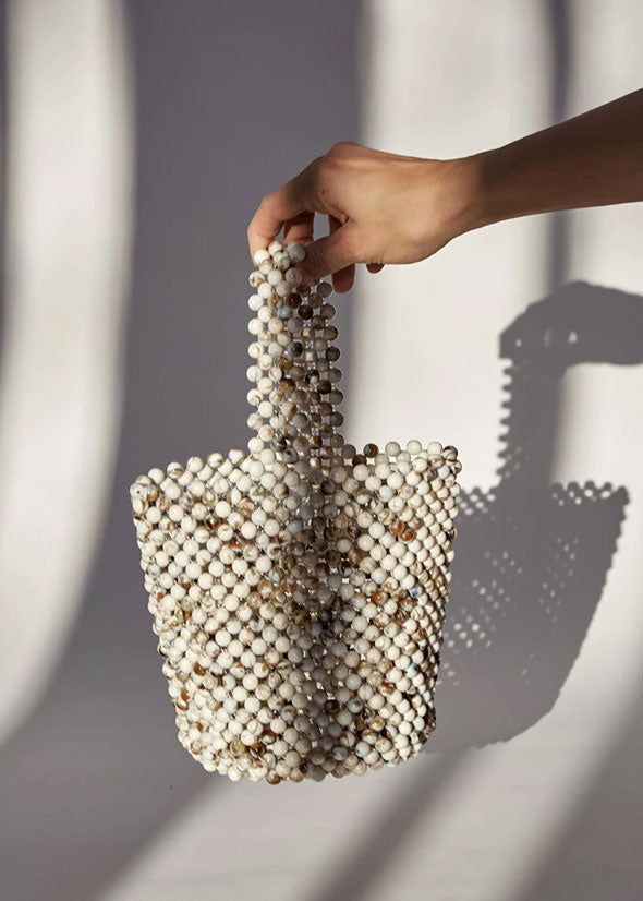 Mini Bead Bag Cream Mix