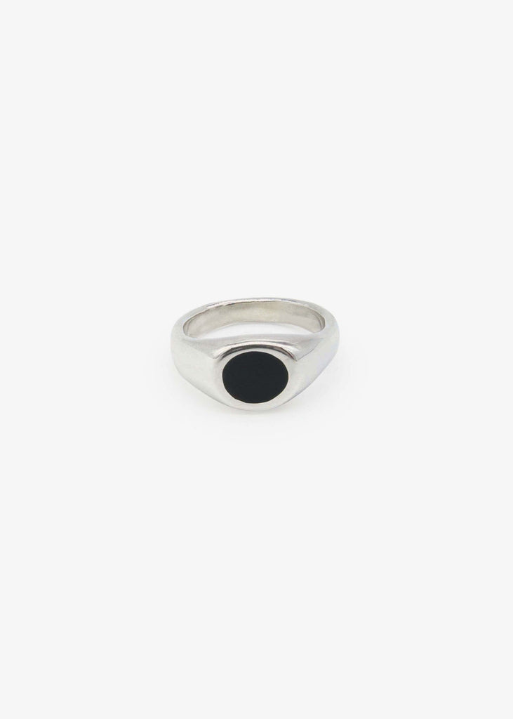 Black Hole Ring Silver