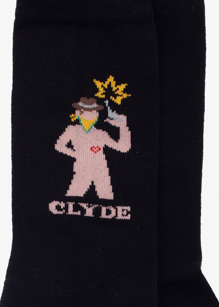 Clyde Socks Black