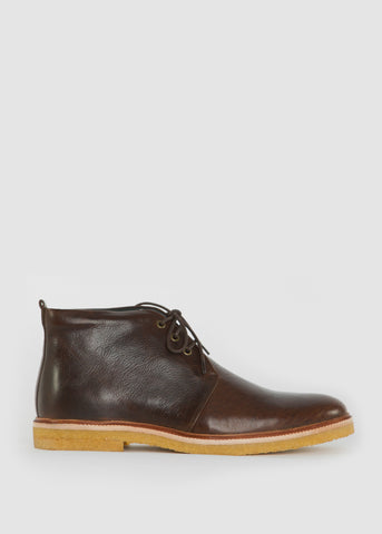 Cast Creep Midcut Leather Shoe Brown