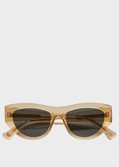 Candy Sunglasses Citrine Polished Green