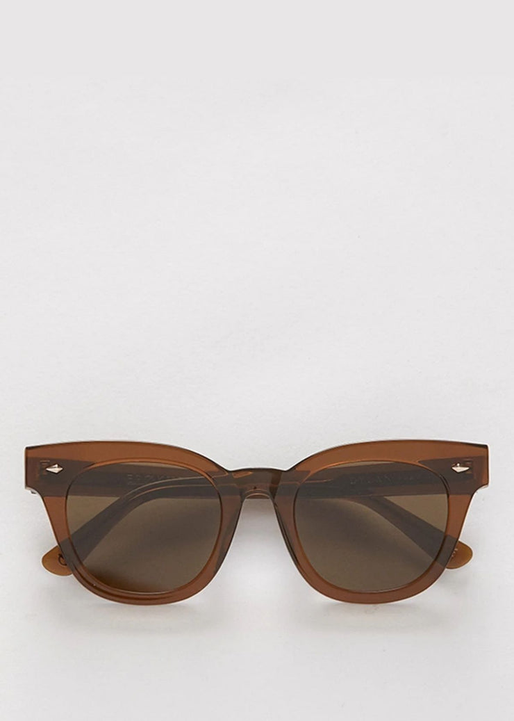 Dylan Zero Sunglasses Tobacco Polished Brown
