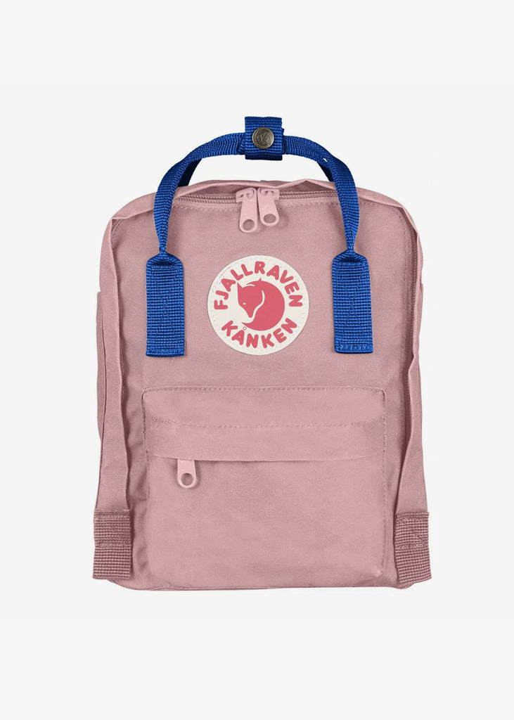 Kanken Mini Backpack Pink Air Blue