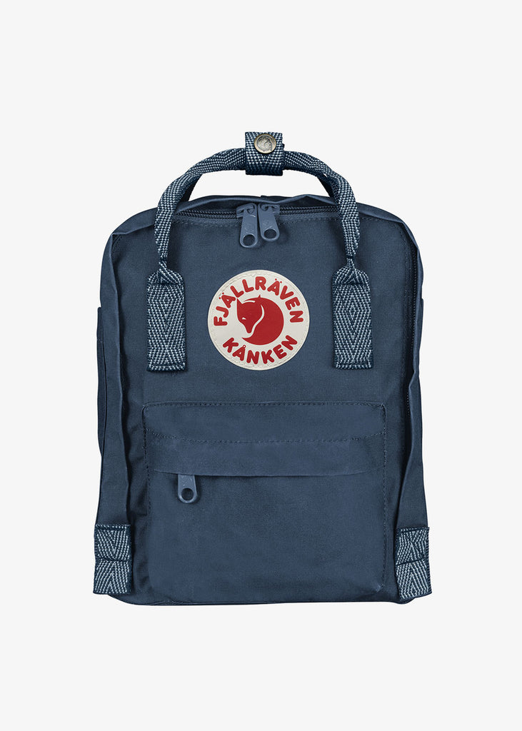 Kanken Mini Backpack Royal Blue Goose Eye