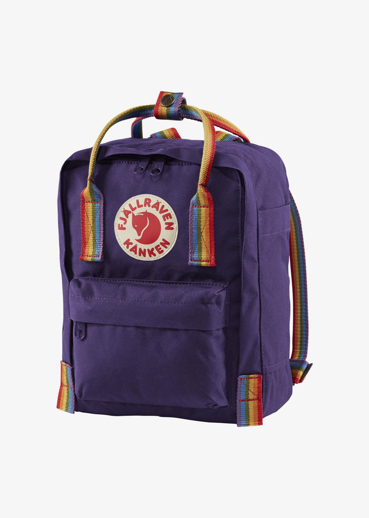 Kanken Mini Backpack Rainbow Purple