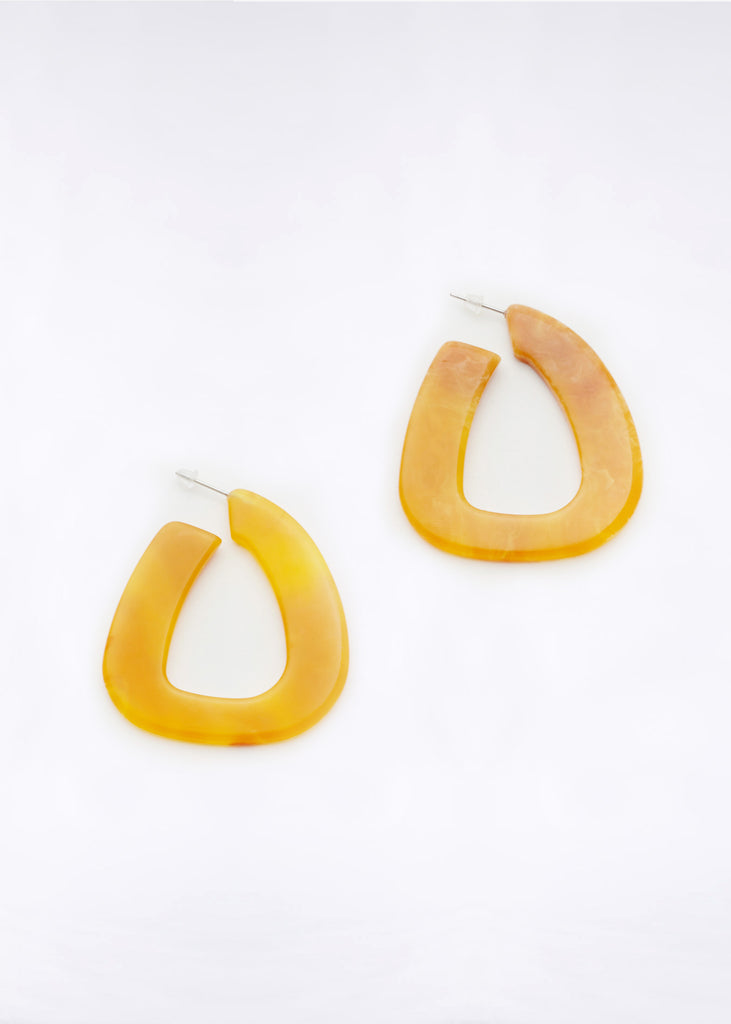 Anais Earrings Amber