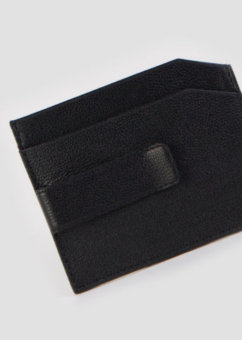 Fuze Cardholder with Clip Black