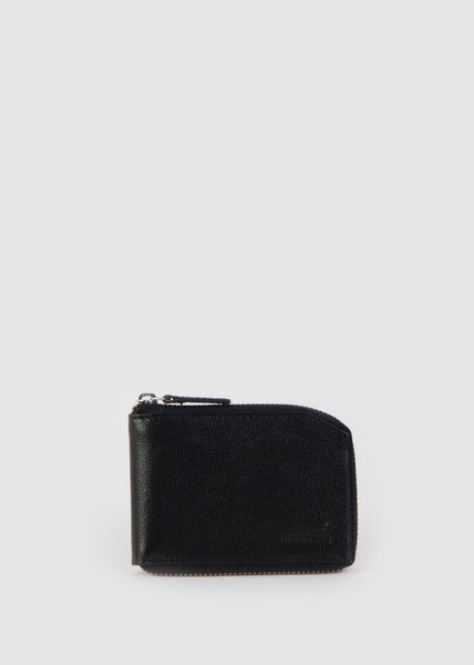 Fuze Zip Wallet Black