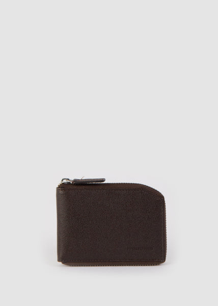 Fuze Zip Wallet Brown