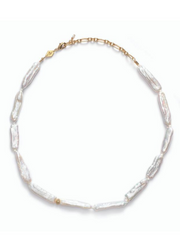 The Great White Necklace Gold