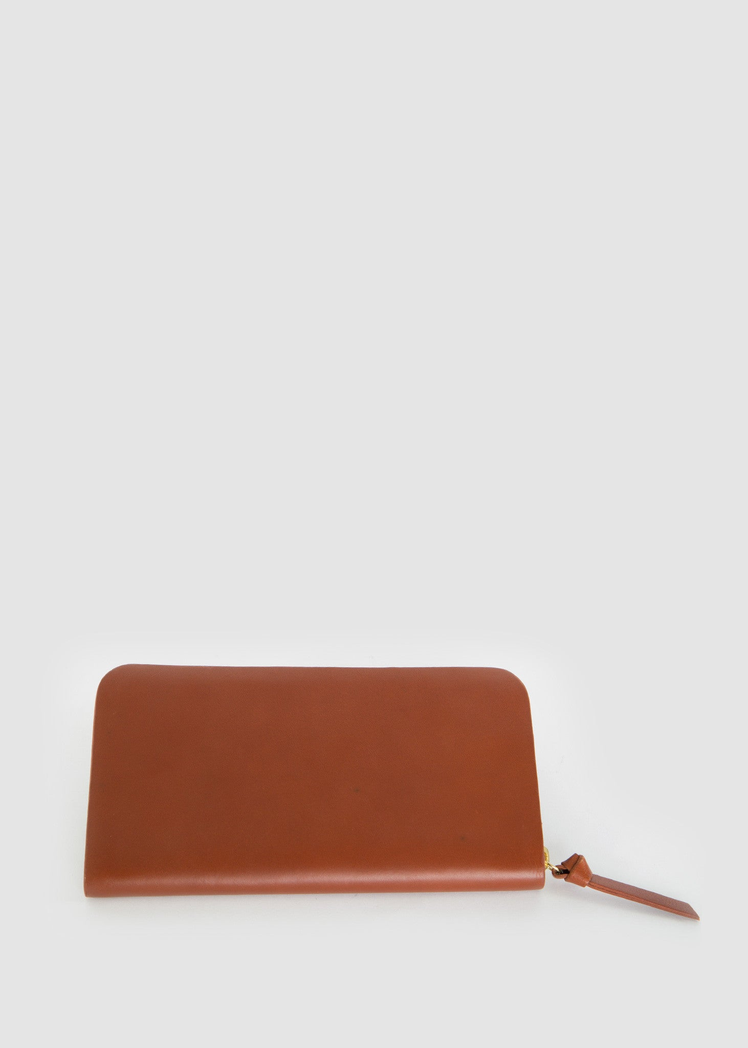 Galax Travel Wallet Cognac