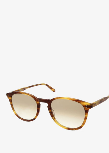 Kinney Sunglasses Matte Pinewood/Semi-Flat Brown Gradient