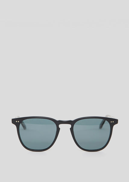 Brooks Sunglasses Matte Black/Blue Smoke Polar