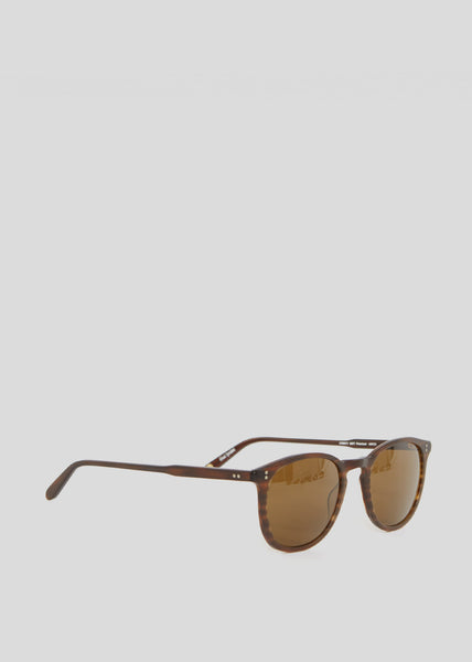 Kinney Sunglasses Matte Brandy Tortoise/Brown Polar