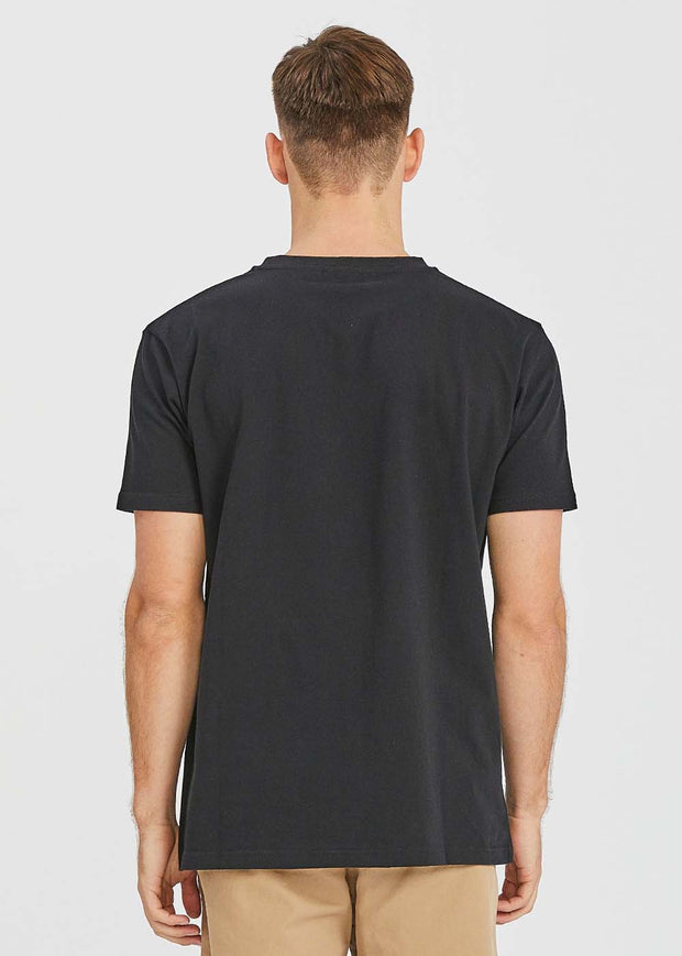 One Point Tee Black