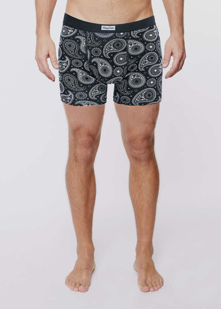 Trunk Black Paisley