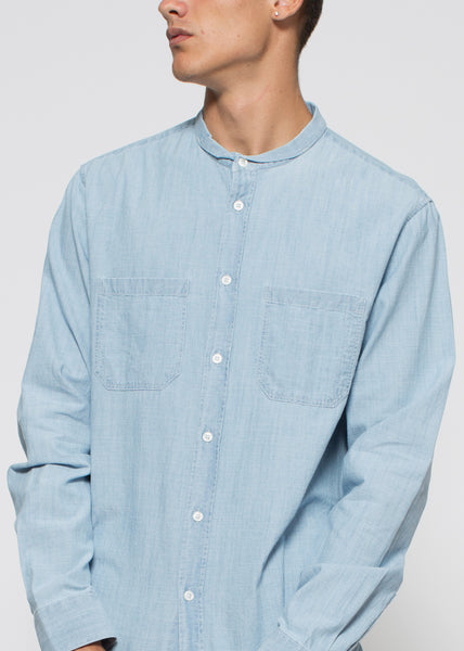 Rick Shirt Light Blue Denim
