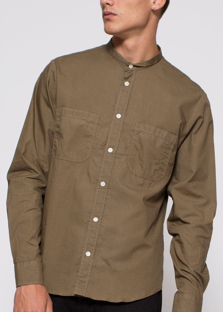 Rick Shirt Khaki Green