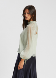 Sanne Blouse Agate Grey