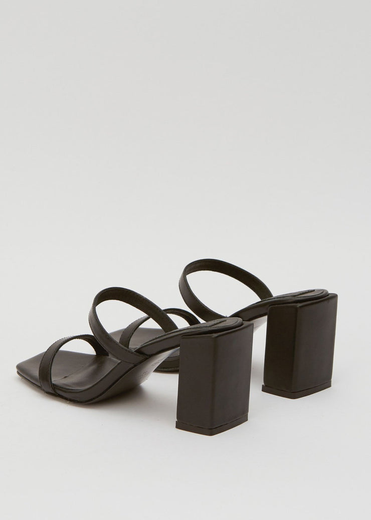 Square Heel Black