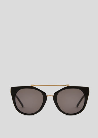 JuneBug Remix Sunglasses Solid Black