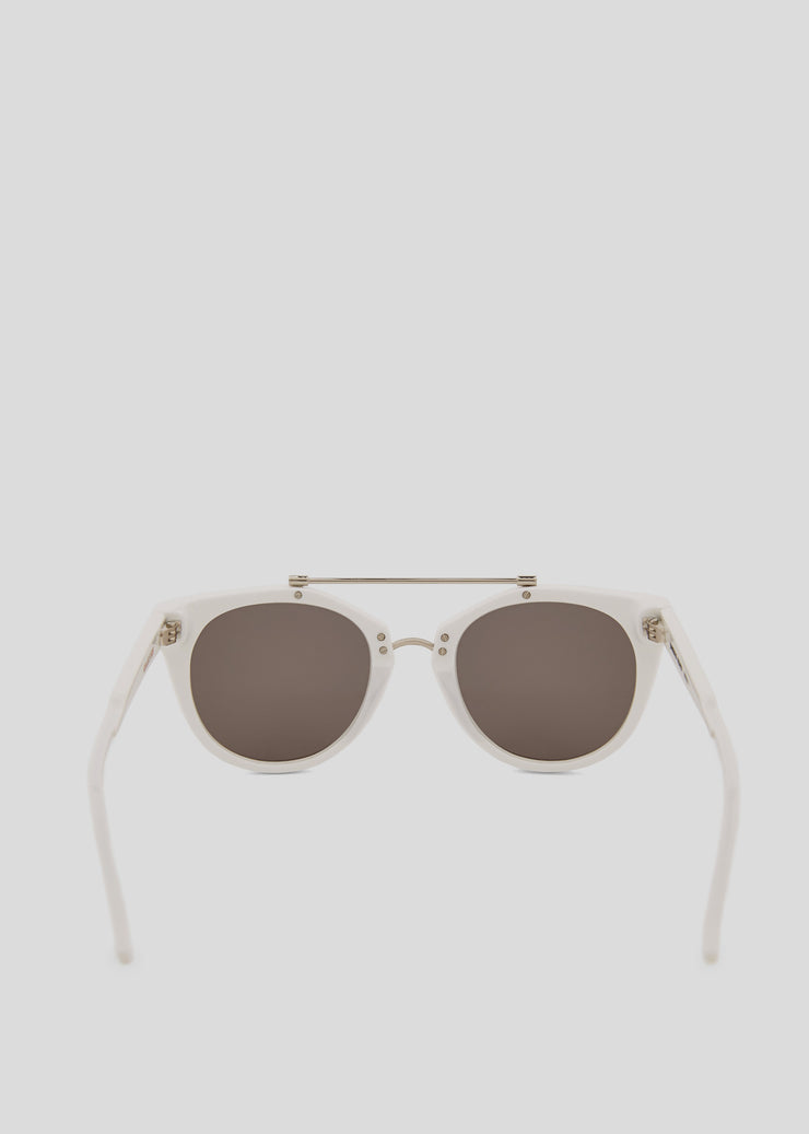 JuneBug Remix Sunglasses White