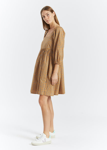 Merle Dress Snowdrop Khaki