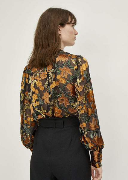 Mirador Blouse Golden Flower