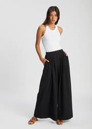 Drape Pants Black