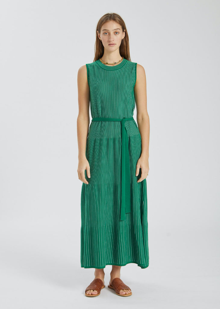 Kaolin Dress Evergreen