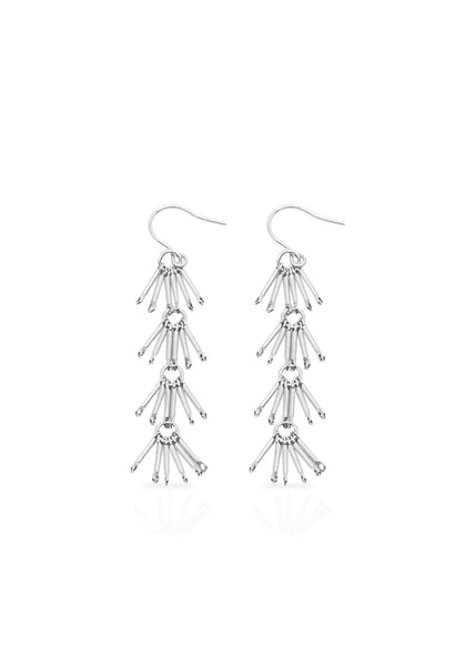 Lantern Earrings Silver
