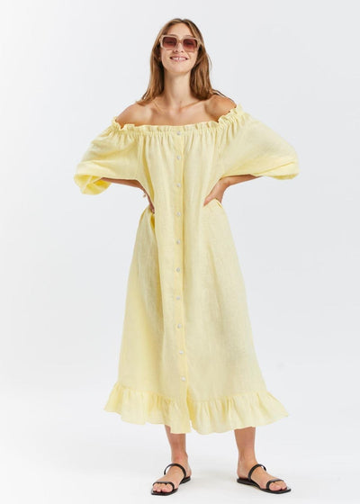 Loungewear Dress Lemon