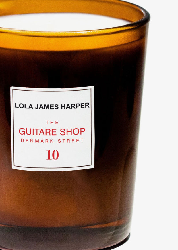 Guitare Shop Candle