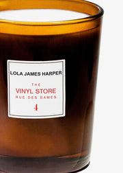 Vinyl Store Candle