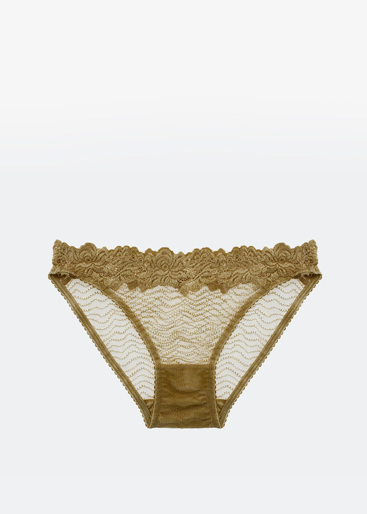 Bonnie Brief Chartreuse