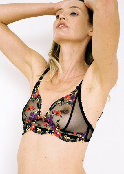 Dasha Softcup Bra Black