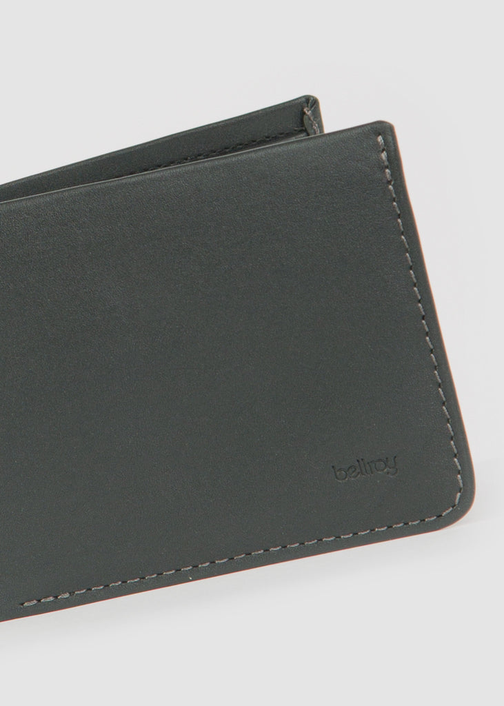 Low Down Wallet Black