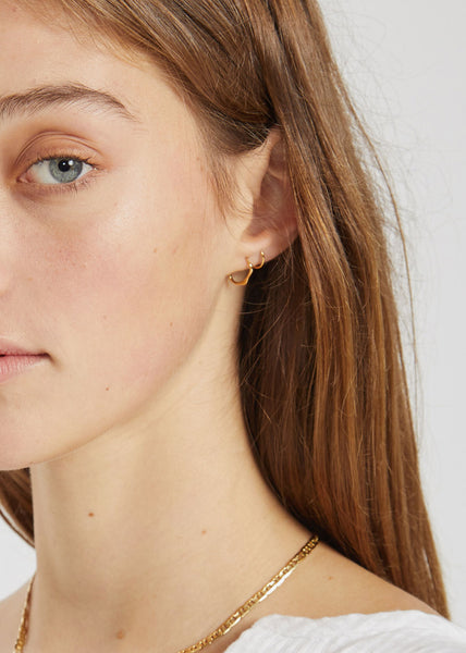Lake Twirl Earring Gold
