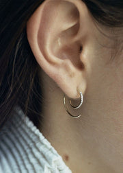 Loop Earring 14 Karat Yellow Gold