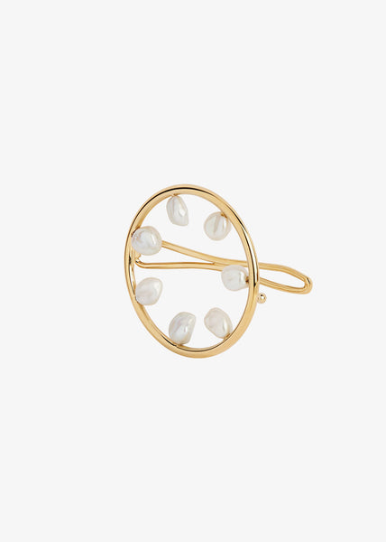 Secret Garden Hairpin Gold