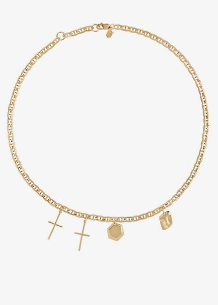 Stories Necklace Gold