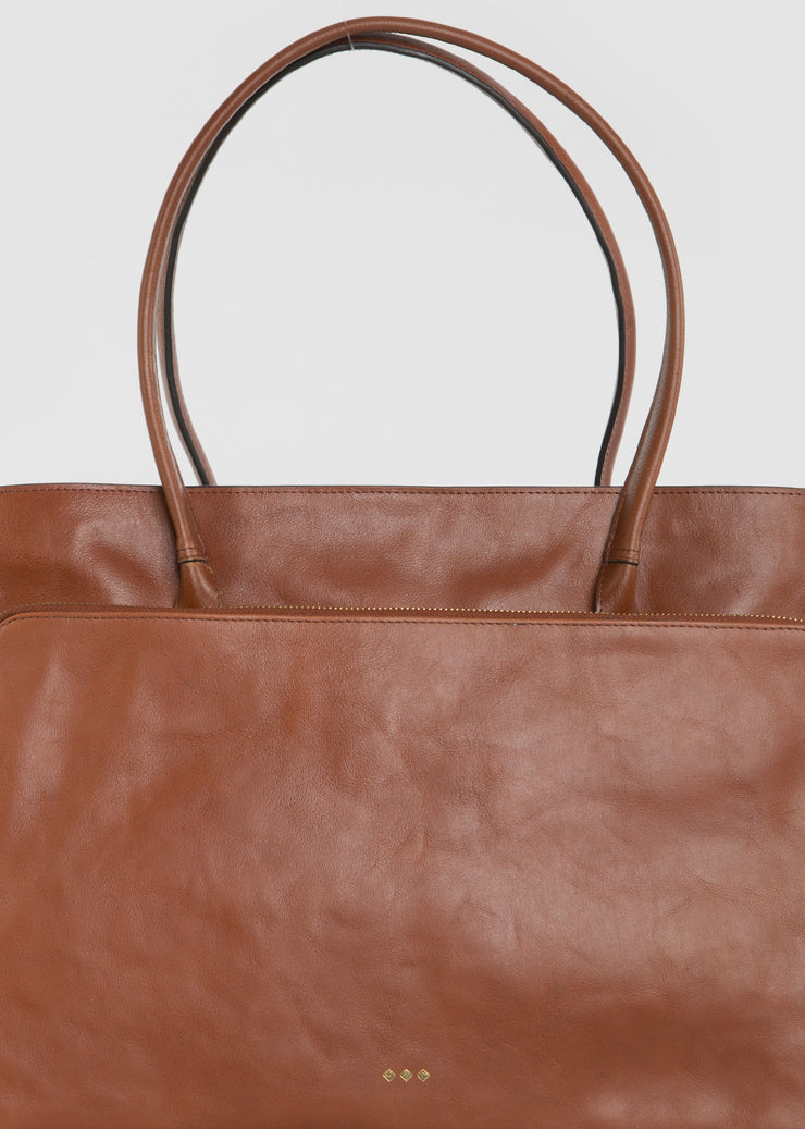 Mel Shopper Bag Cognac